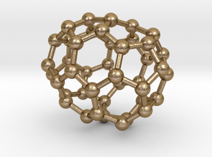 0244 Fullerene C42-23 c2 3d printed