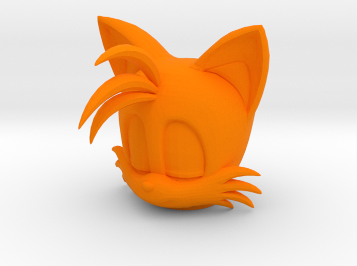 Custom Tails The Fox Inspired Lego 3d printed