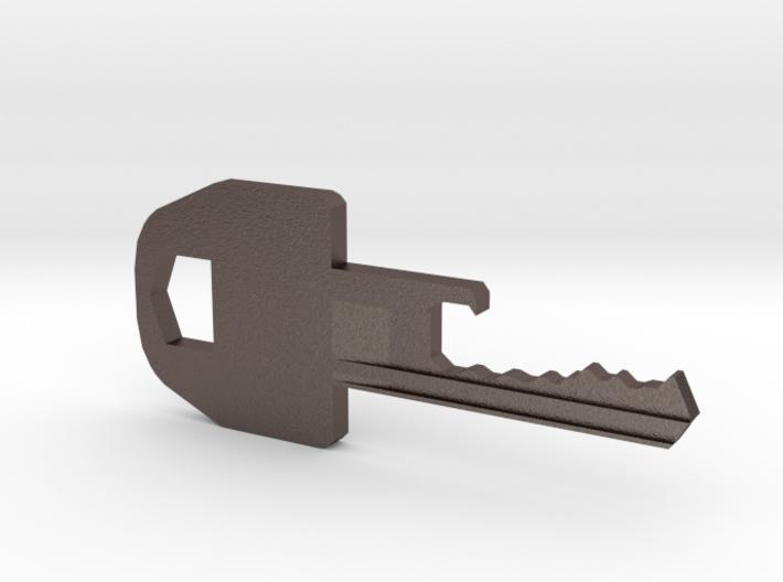 Key Bottle Opener 3d printed