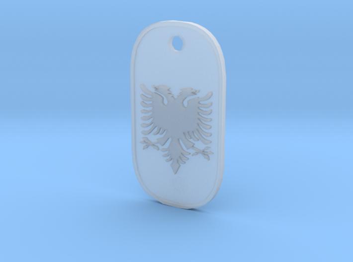 Albanian Pendant 3d printed