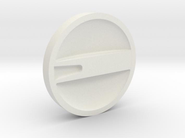 Retro Raygun: Selector dial 3d printed