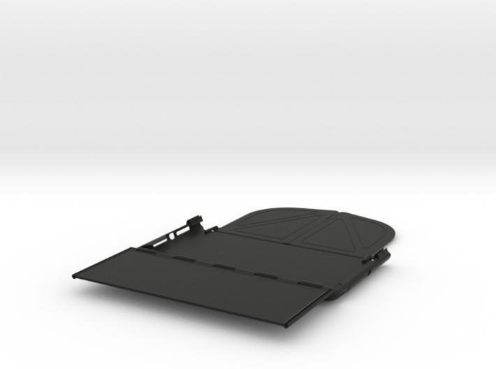 iPad Mini Foldaway Visor / FPV Deep Hood 3d printed