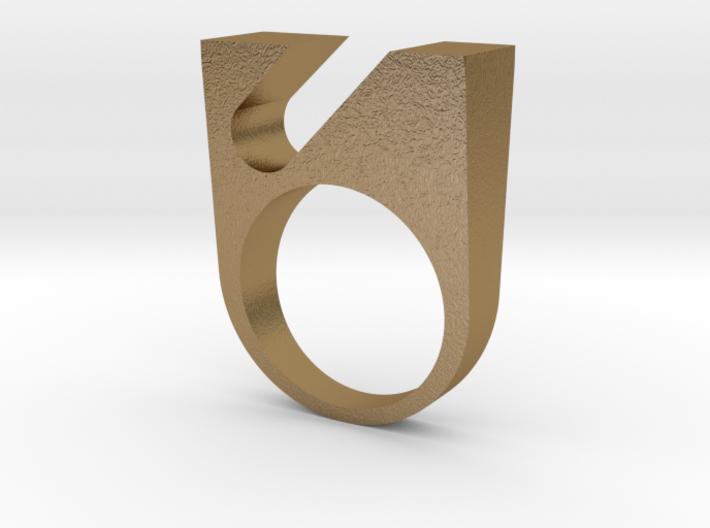OPNR-ring female size 8 3d printed