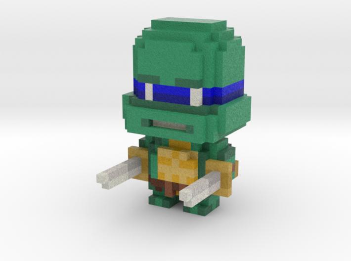 """""""Leo"""" Voxel Figurine 3d printed"""