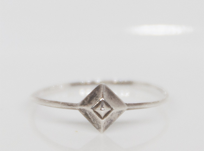 Small Stud Ring - US size5 3d printed