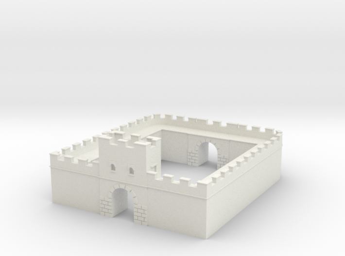 Roman Milecastle (Detached) 3d printed