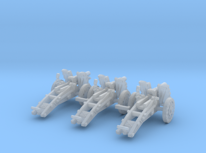 1/100 sIG33 cannon 3d printed