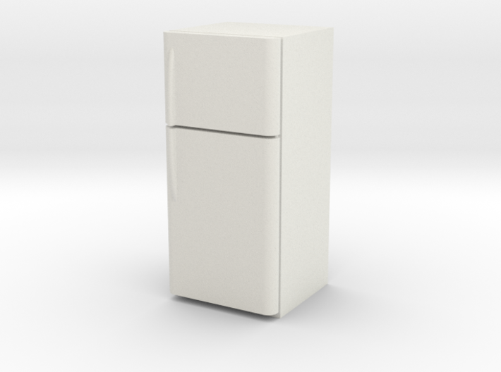 1:24 Fridge (NOT FULL SIZE) 3d printed