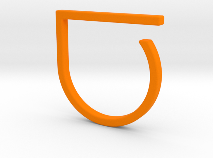 Adjustable ring. Basic model 0. 3d printed