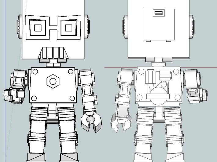 Nerdbot 3d printed