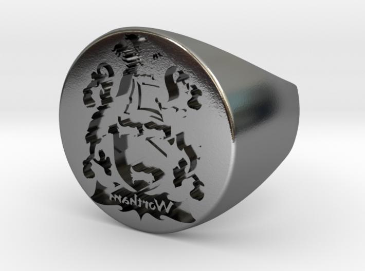 Custom Signet Ring 6 3d printed