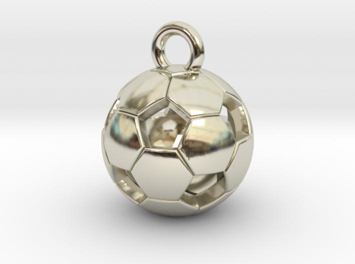 SOCCER BALL D 3d printed