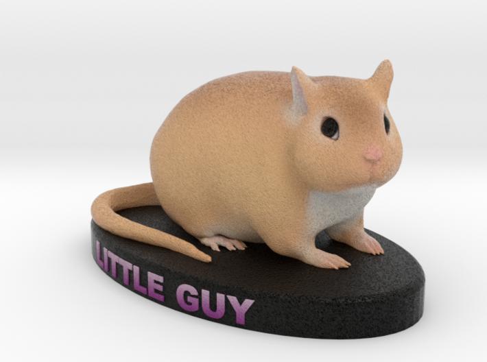 Custom Gerbil Figurine - Littleguy 3d printed