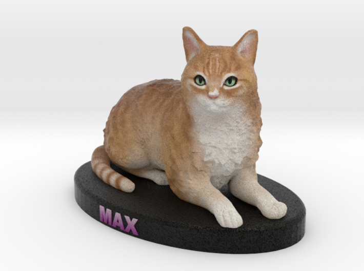 Custom Cat Figurine - Max 3d printed