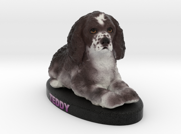 Custom Dog Figurine - Teddy 3d printed