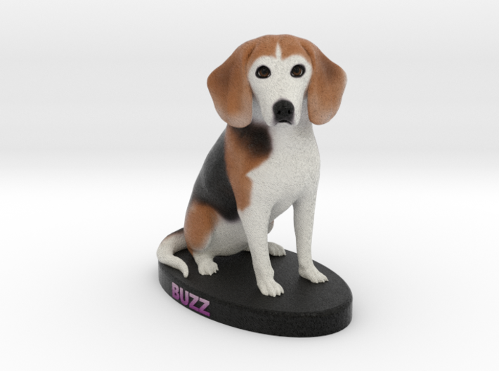 Custom Dog Figurine - Buzz 3d printed
