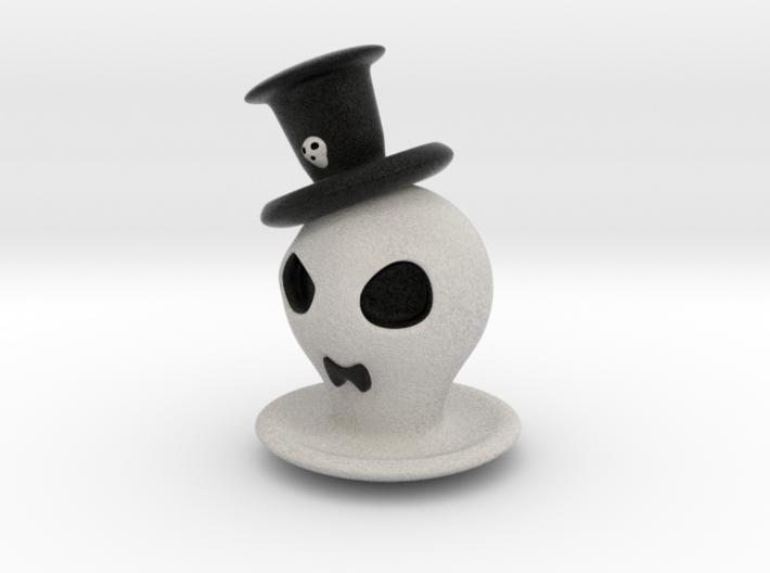 Halloween Hollowed Figurine: GentlemanGhosty 3d printed