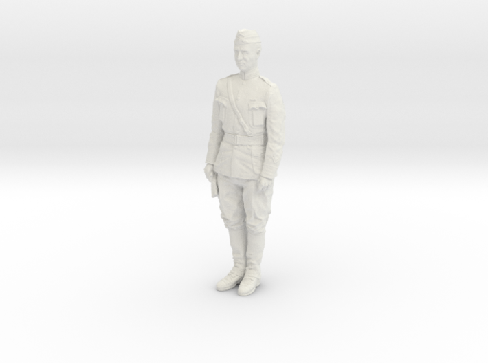 1-16 George S Patton Attention Pic 1918 3d printed