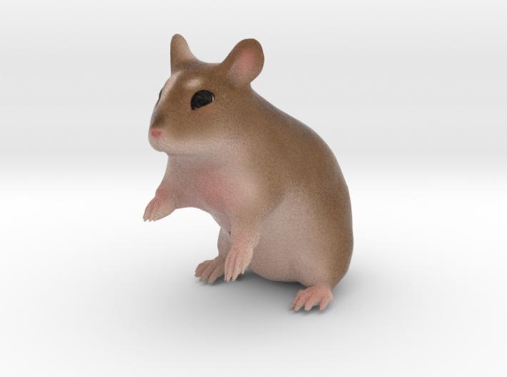Custom Hamster Figurine - Filly 3d printed