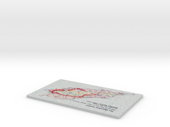 Small OS Mountain Course  3d printed