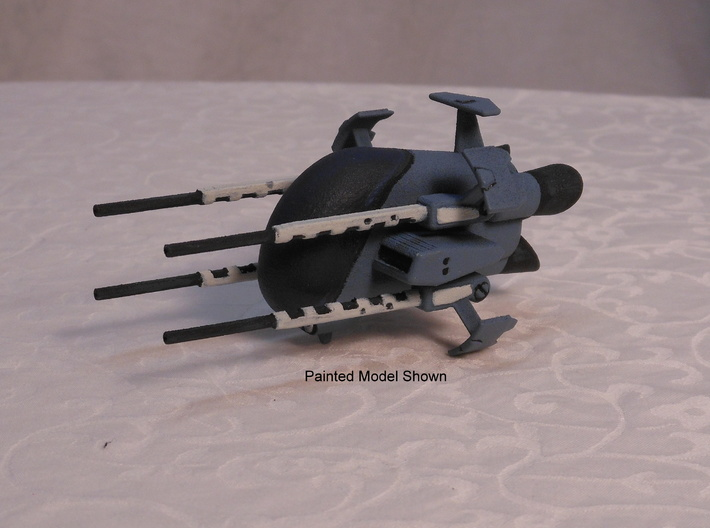 TA03 Taurus Space Fighter 3d printed