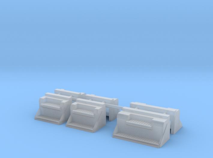 1/64th Kenworth type vintage battery step box 3d printed