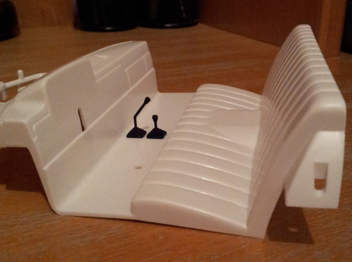 Gear Shift handles for Tamiya  3d printed
