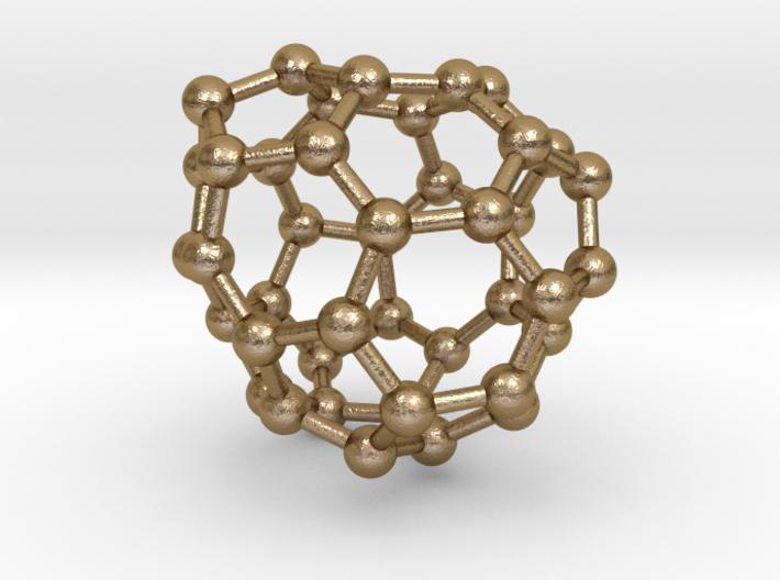 0261 Fullerene C42-40 c2 3d printed