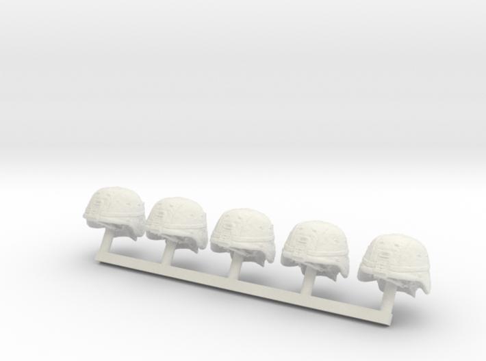 1-18 US Army ACH Helmets 3d printed