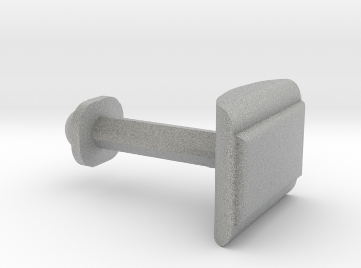 Customize this cufflink 3d printed