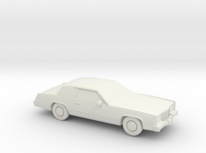1/87 1983 Cadillac Eldorado Convertable Top 3d printed