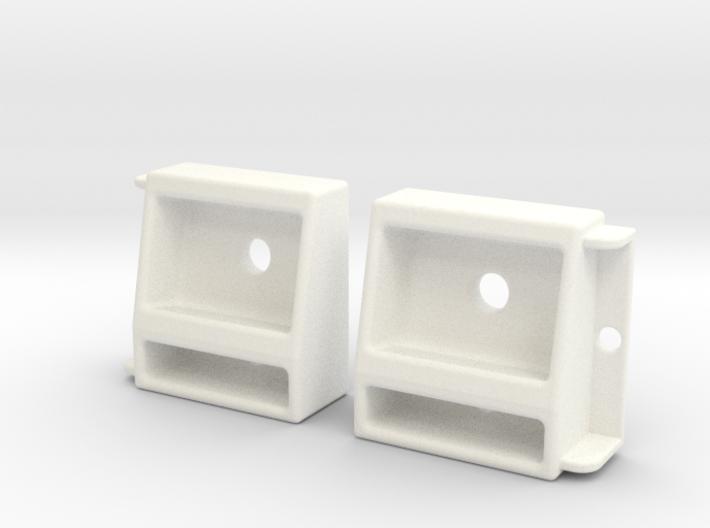 1/10 SCALE PROLINE JEEP FRONT LIGHT SET 3d printed