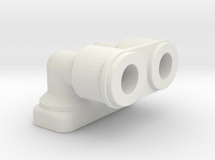 Left Hose Manifold 3d printed