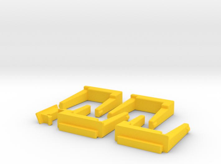 4 Module 1 Side 3d printed