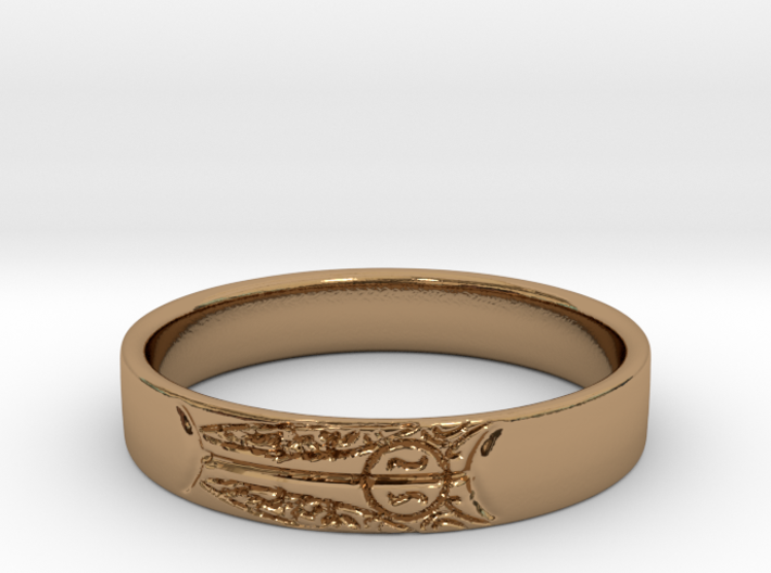 King's Ring 3d printed