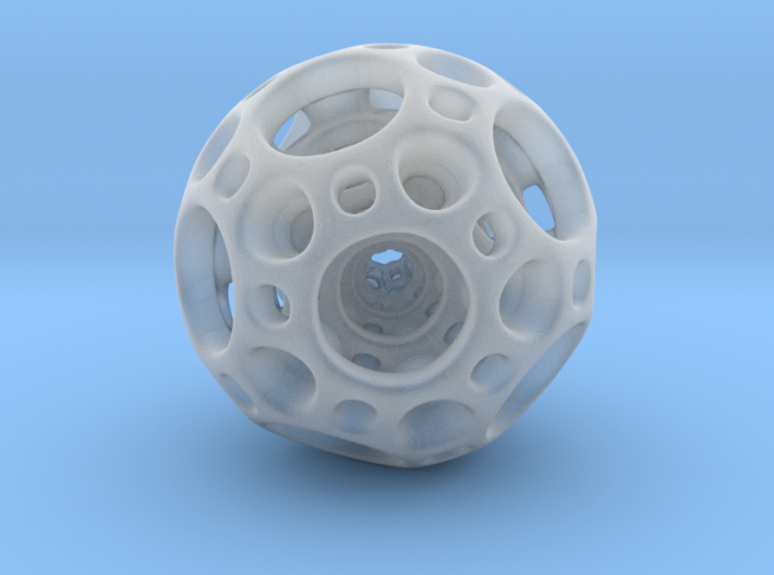 Dodecahedron Nested Sphere ( Large ) 3d printed