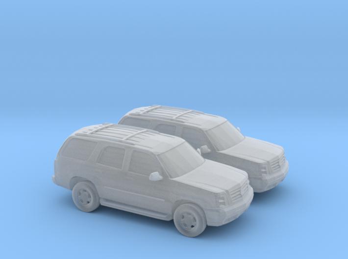 1/160 2X 2001-06 Cadillac Escalade 3d printed