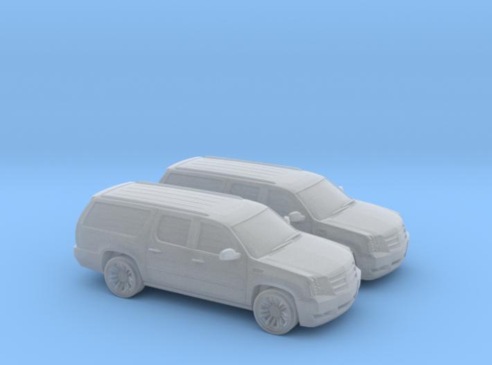 1/160 2X 2013 Cadillac Ecalade 3d printed