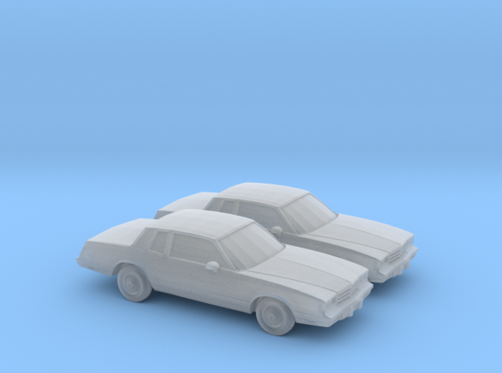 1/160 2X 1983 Chevrolet Monte Carlo 3d printed