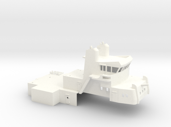 MV Anticosti, Superstructure (1:200, RC Ship) 3d printed