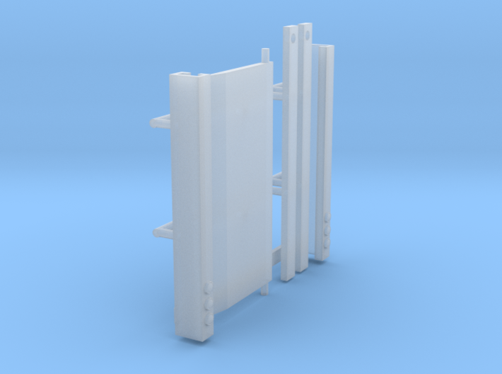 1/64th Truck or trailer Lift Gate 3d printed