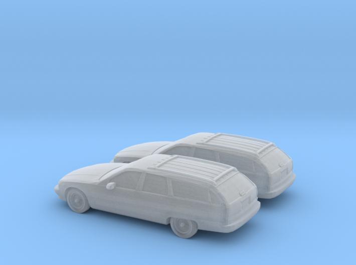 1/160 2X 1996 Chevrolet Caprice Classic Wagon 3d printed