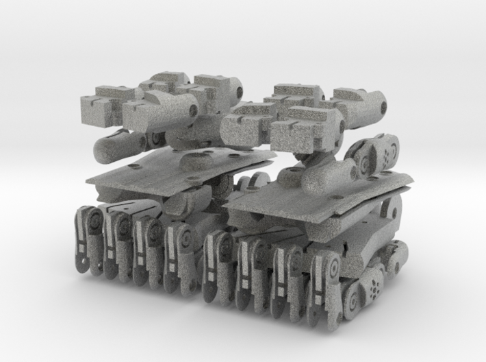 3D Printed Hand Pair 3d printed