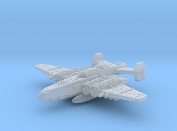 Fighterbomber W. Droptanks 3d printed