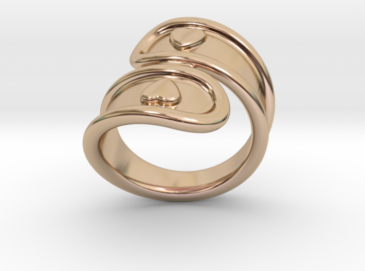 San Valentino Ring 25 - Italian Size 25 3d printed