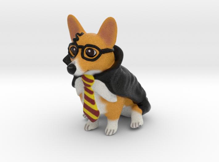 Corgi Potter 3d printed
