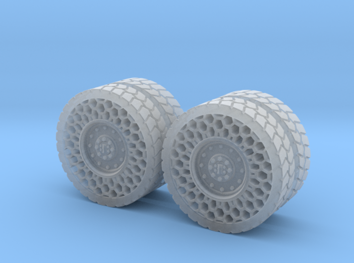 Airless Tires 1:35 - pattern 1 3d printed