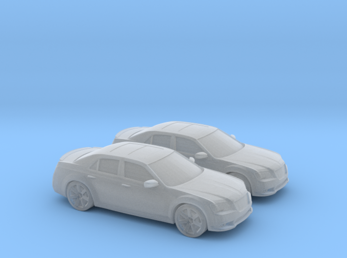 1/160 2X 2011 Chrysler 300 SRT 3d printed