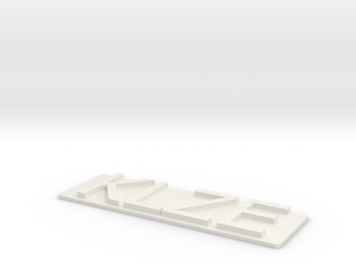 KLZE-Tach 3d printed