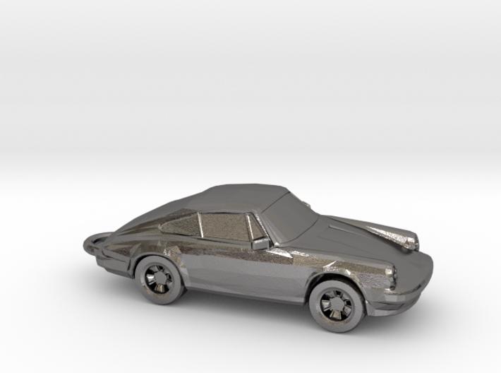 Classic Porsche 911 Keychain 3d printed